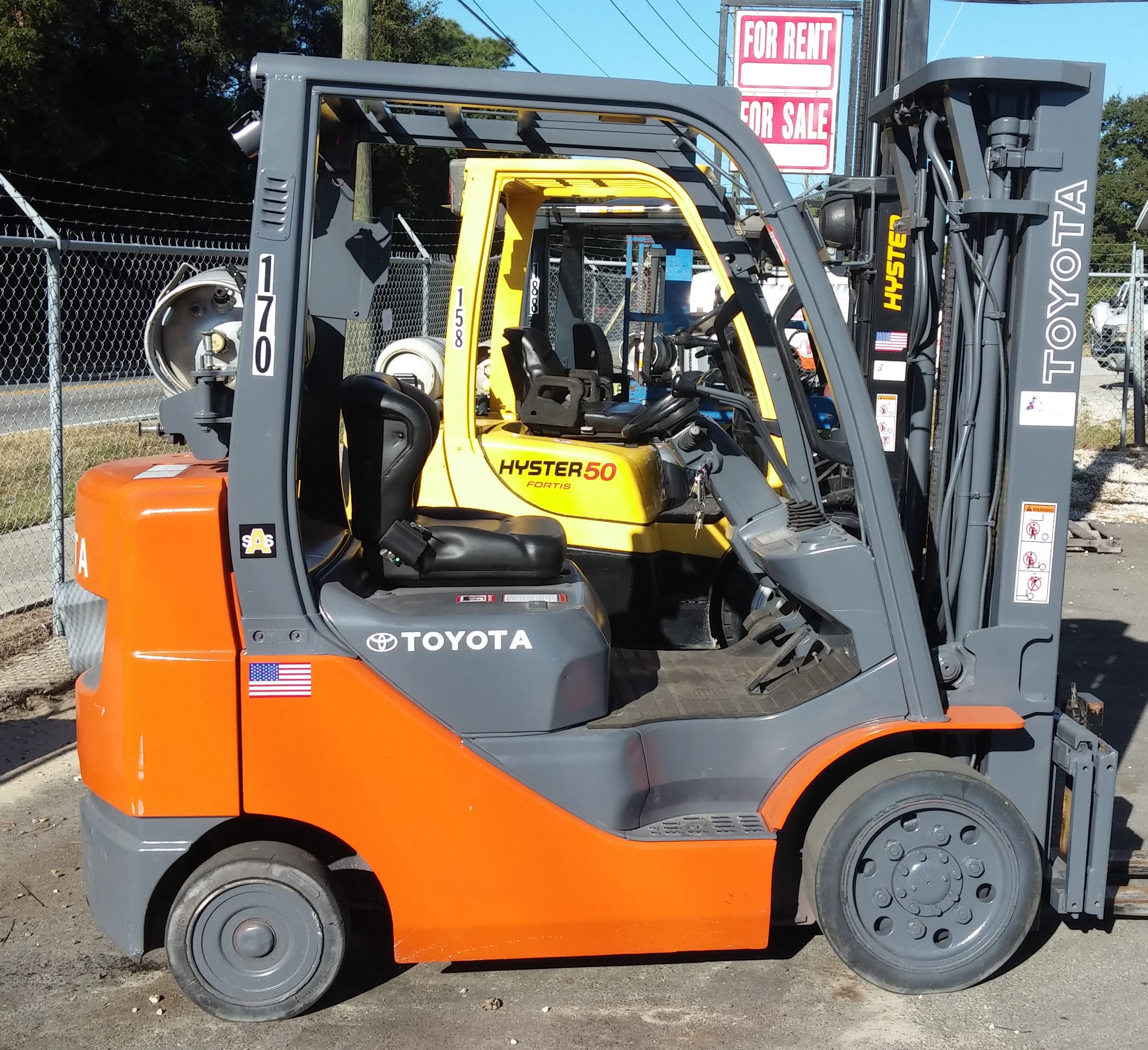 Used Forklifts For Sale in Central Florida - Used Forklift